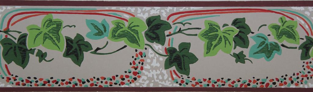 Trimz Vintage Wallpaper Border Ivy Carnival