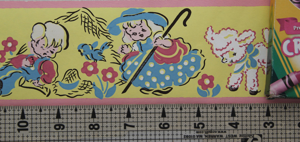Trimz Vintage Wallpaper Border Fairy Tales