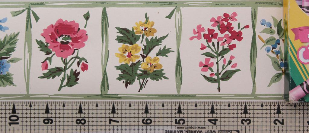 Trimz Vintage Wallpaper Border Windowpane