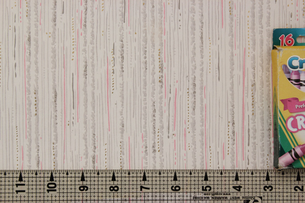 1940s Vintage Wallpaper Pink and Gray Faux Finish