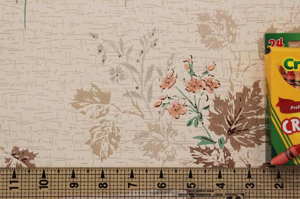 1950s vintage wallpaper pattern size image