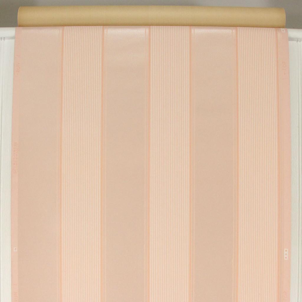 1940s Vintage Wallpaper Pink Stripe
