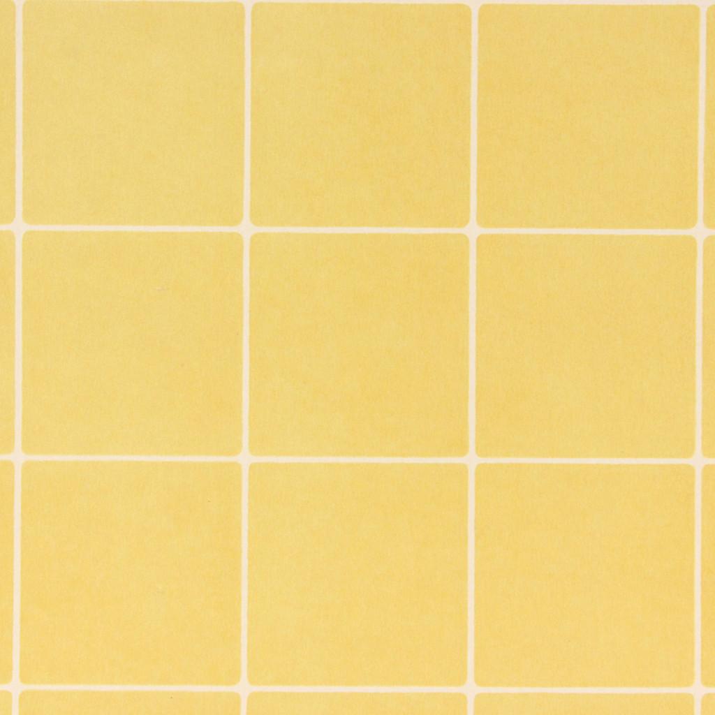 1930s Vintage Wallpaper Yellow Tile