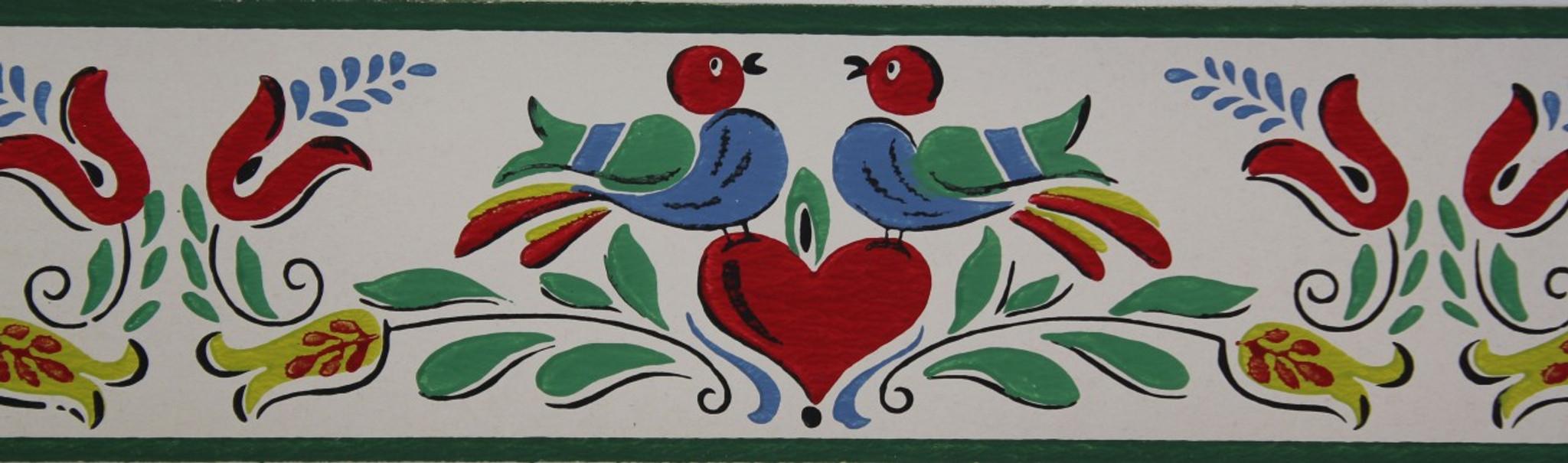 Trimz Vintage Wallpaper Border Penn Decor Rosie S Vintage Wallpaper
