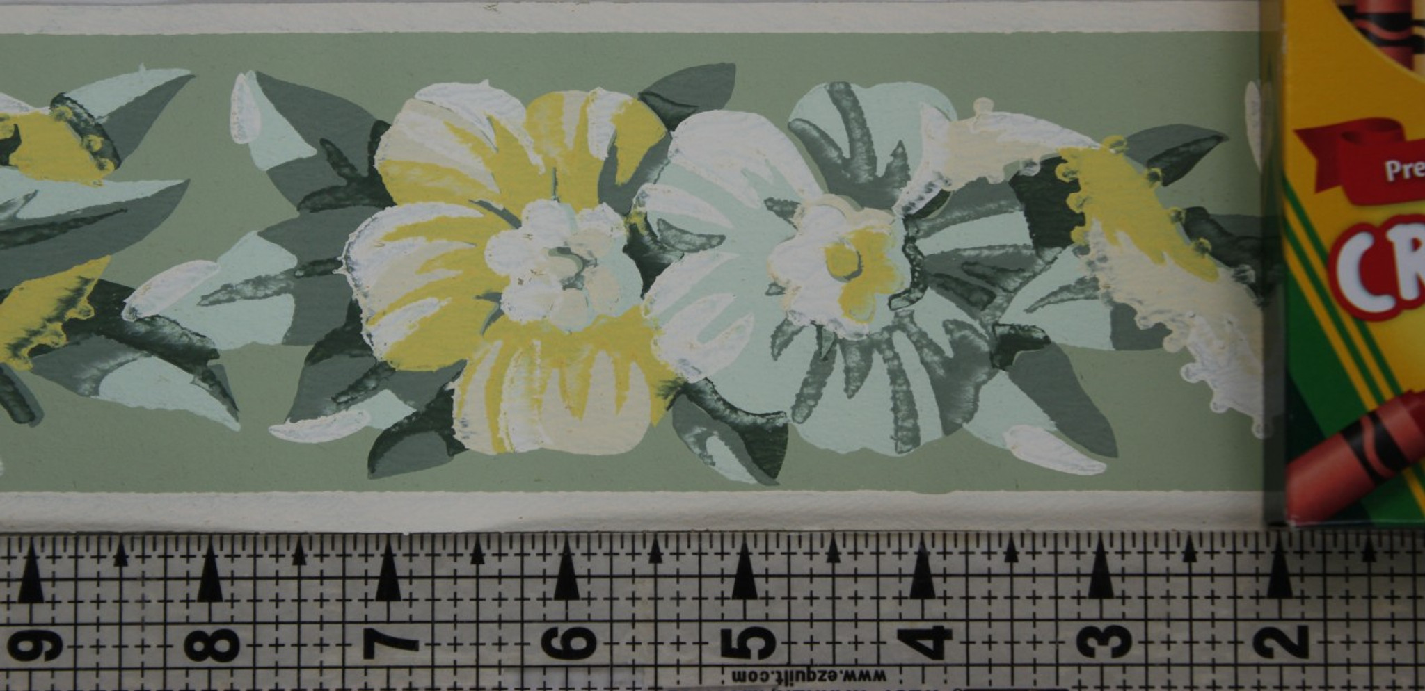 Trimz Vintage Wallpaper Border Floral Trim Rosie S Vintage Wallpaper