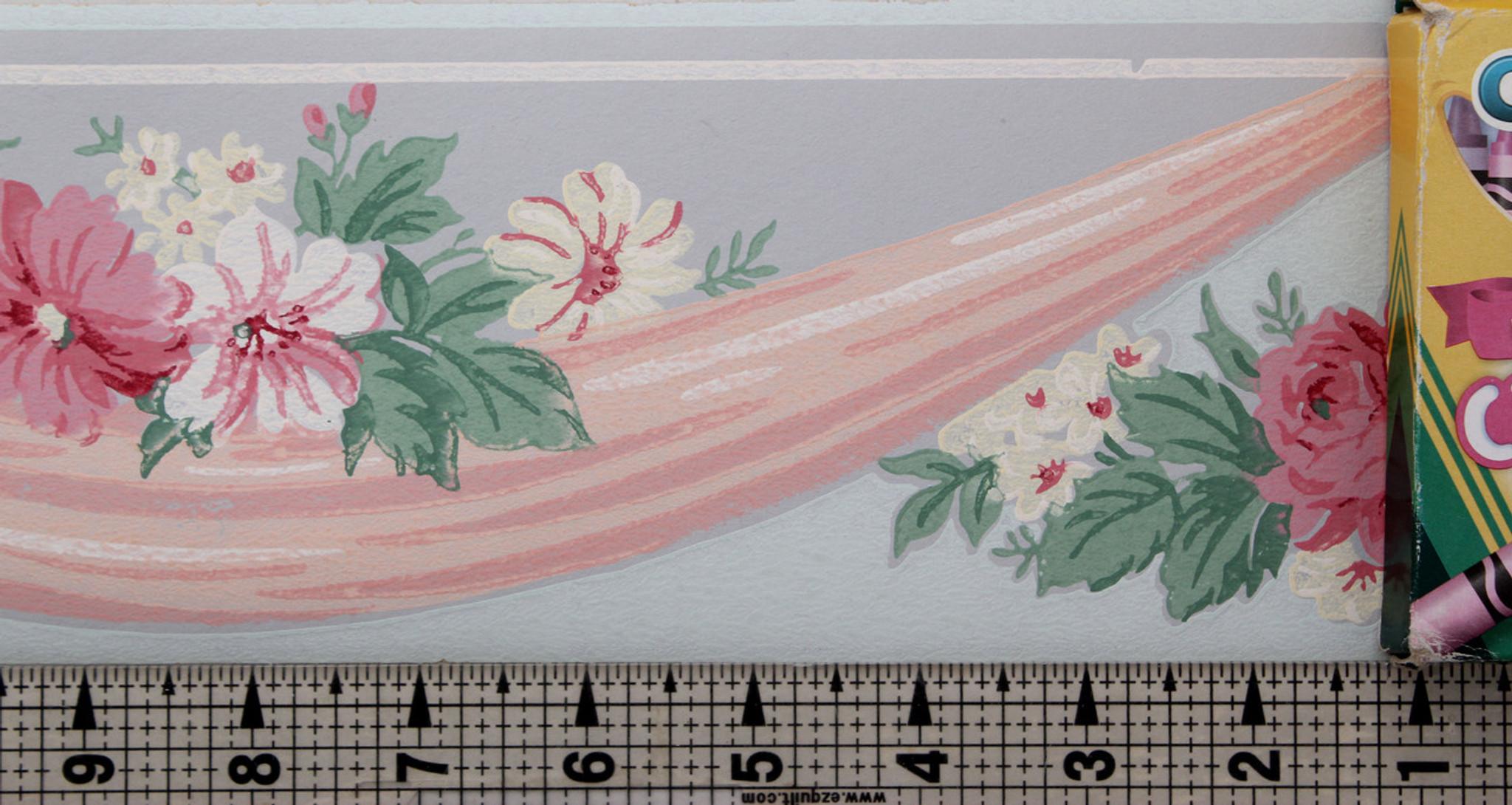 Trimz Vintage Wallpaper Border Floral Drape Rosie S Vintage