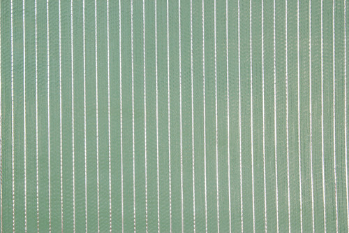 1970s Vintage Wallpaper Retro Aqua Green Stripe Foil