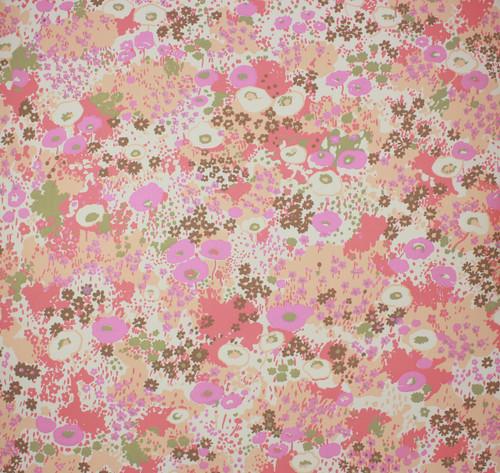 1970s Vintage Wallpaper Retro Floral