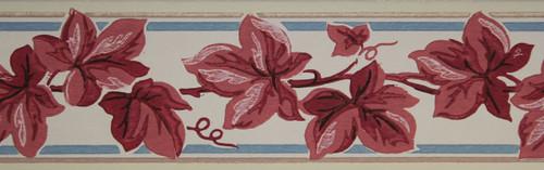 Trimz Vintage Wallpaper Border Autumn Ivy
