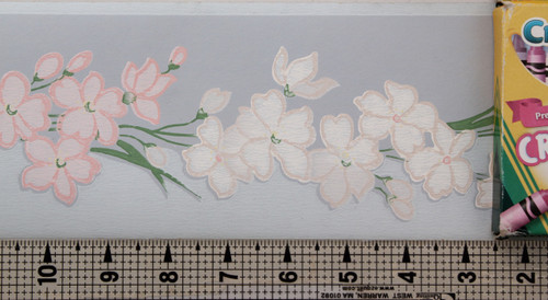 Kem-Tone Vintage Wallpaper Border Springtime