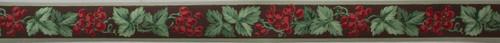Kem-Tone Vintage Wallpaper Border Red Grape