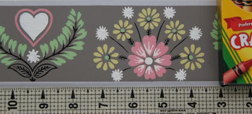 Trimz Vintage Wallpaper Border L'Fleur Petite