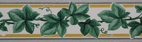 Trimz Vintage Wallpaper Border Ivy