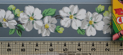 Trimz Vintage Wallpaper Border Apple Blossom