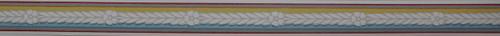 Trimz Vintage Wallpaper Border Colortone Blue