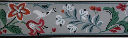 Trimz Vintage Wallpaper Border Springtime