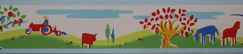 Trimz Vintage Wallpaper Border Pastoral