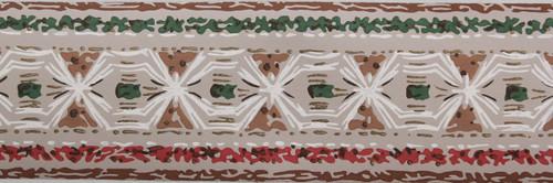 Trimz Vintage Wallpaper Border Tapa Cloth Beige