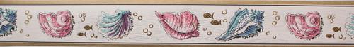Trimz Vintage Wallpaper Border Seashell