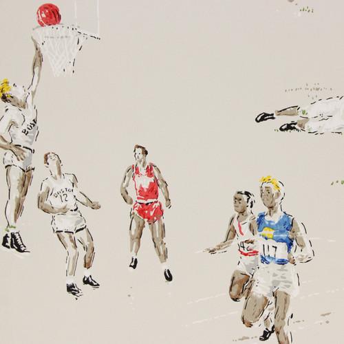 1960s Vintage Wallpaper Sports