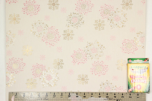 1950s Vintage Wallpaper Pink Gold Floral Starbursts