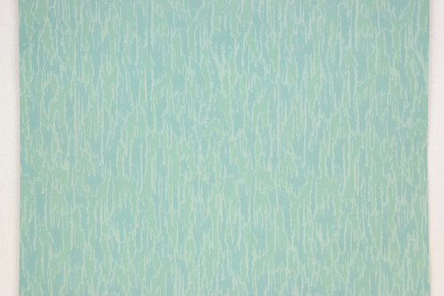 1950s vintage wallpaper aqua green swirl