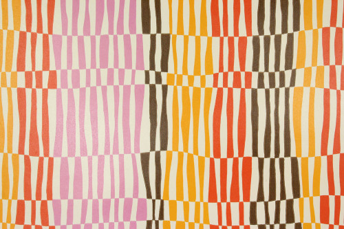 1970s Retro Vintage Wallpaper Geometric Stripes