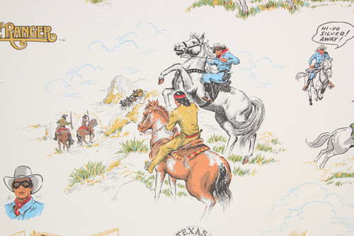 1980s Retro Vintage Wallpaper Lone Ranger
