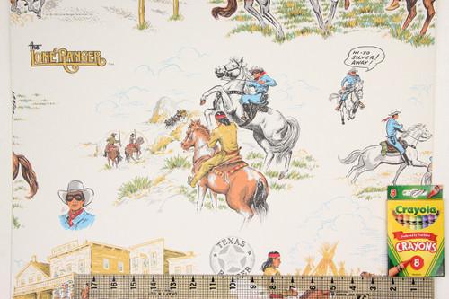 1980s Retro Vintage Wallpaper Lone Ranger