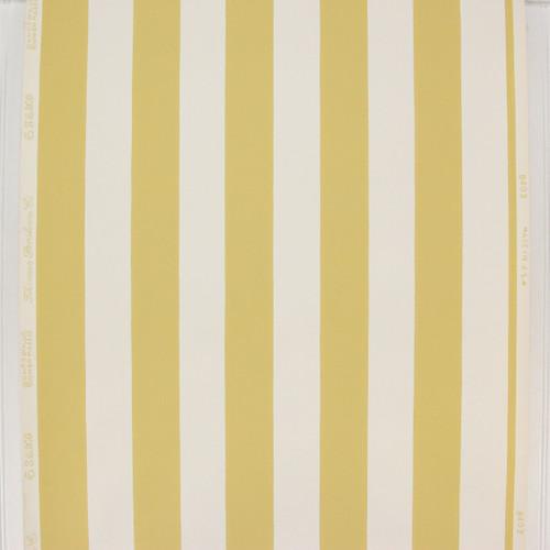 1950s Vintage Wallpaper Thomas Strahan Yellow White Stripe
