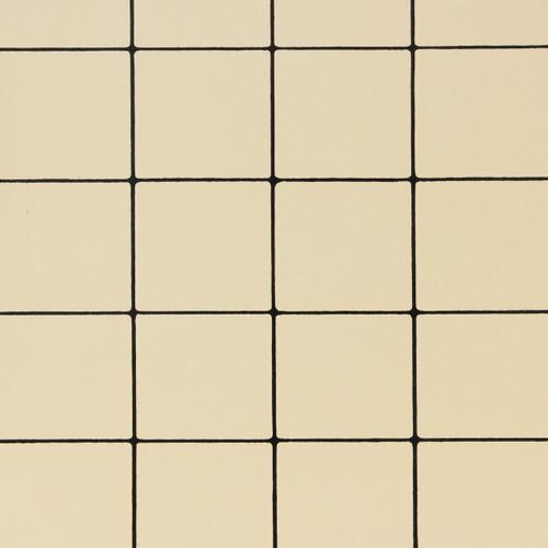1930s Vintage Wallpaper Black White Tile