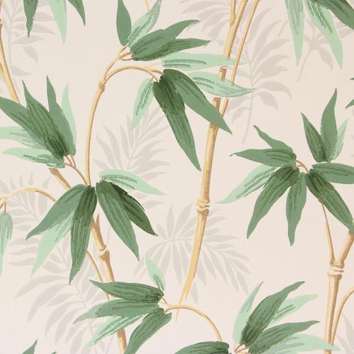 1940s Vintage Wallpaper Bamboo