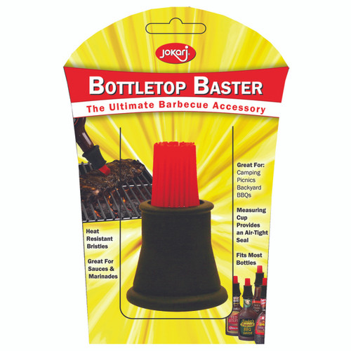 Provides mess-free basting straight from the bottle.