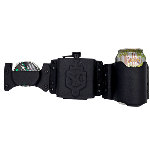 Gameday holster trio to maximize your tailgating experience.