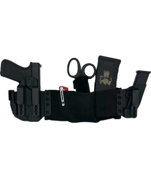 utility band holster for maximum concealment