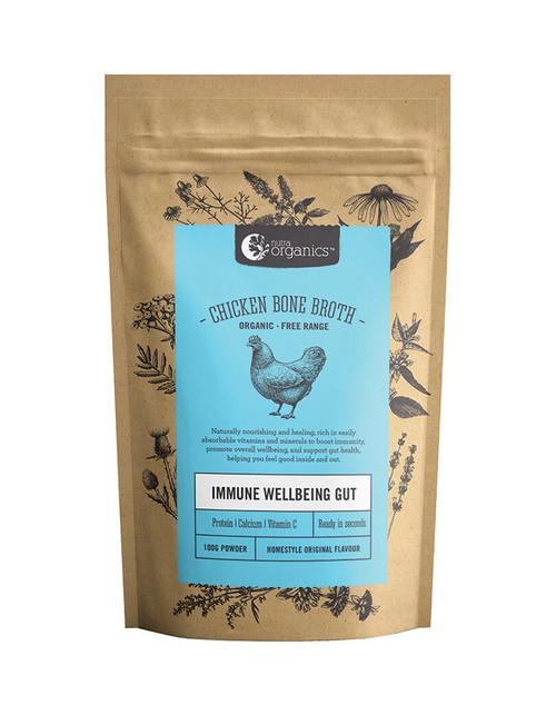 Nutra Organics Chicken Bone Broth Homestyle Original Flavour 100g