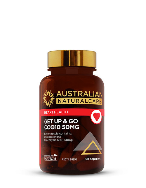 Get Up & Go CoQ10 50mg