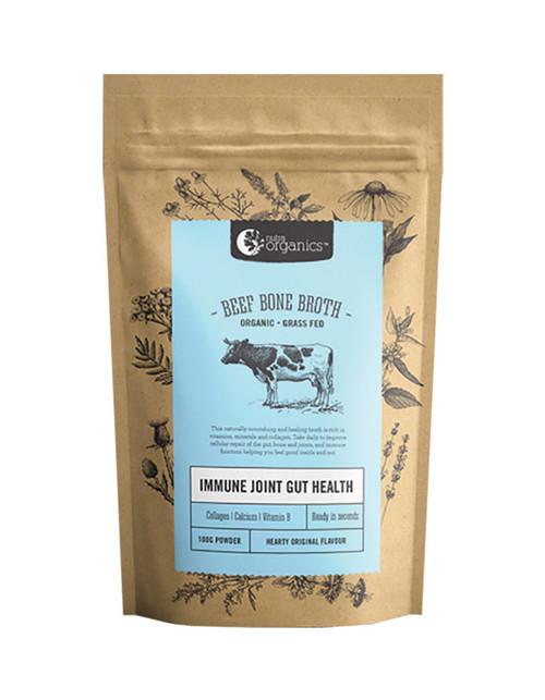 Nutra Organics Beef Bone Broth Hearty Original Flavour 100g