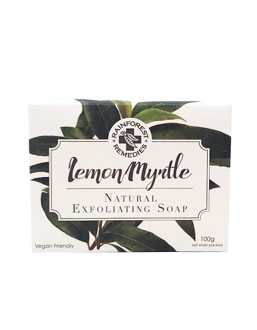 Rainforest Remedies Lemon Myrtle Exfoliant Soap 100g