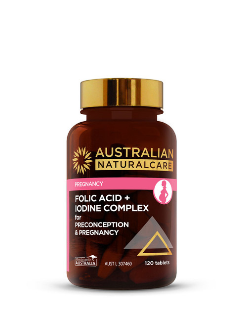 Folic Acid + Iodine Complex for Preconception & Pregnancy