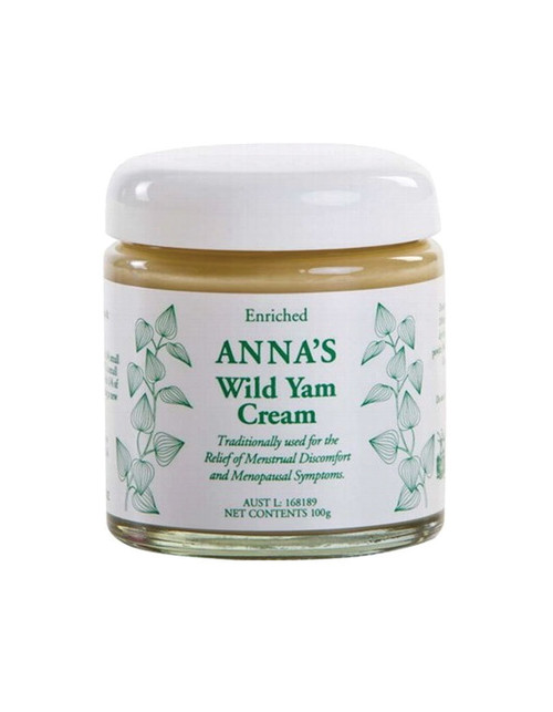 Anna's Wild Yam Cream For Her 100gm
