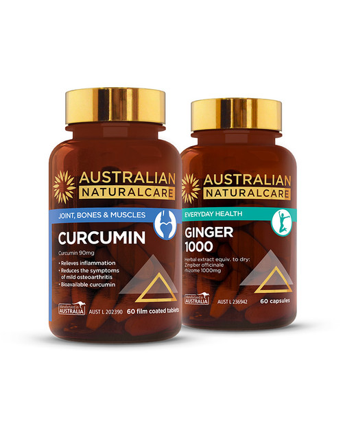 Curcumin & Ginger Anti-Inflammatory Pack