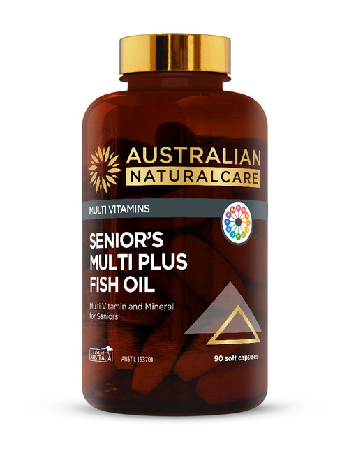 Senior's Multi Plus Fish Oil