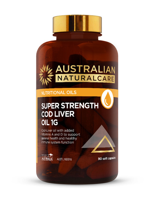 Super Strength Cod Liver Oil 1g
