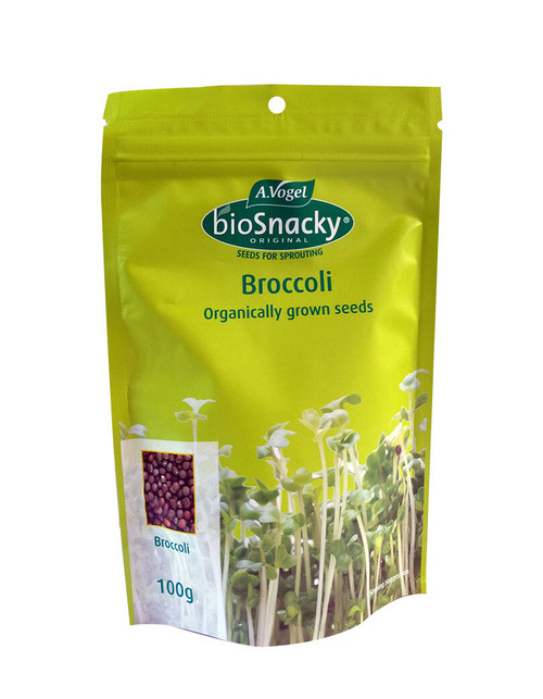 A. Vogel BioSnacky Broccoli Sprouting Seeds 100g