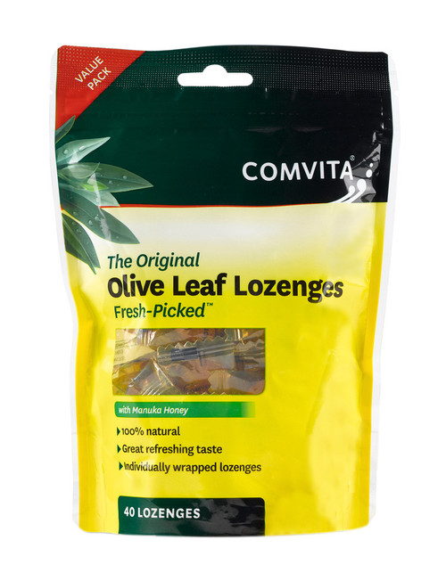 Comvita Olive Leaf Lozenges with Manuka Honey (40)