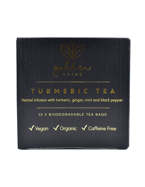 Golden Grind Turmeric Tea 15 bags