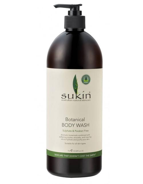 Sukin Botanical Body Wash 1L