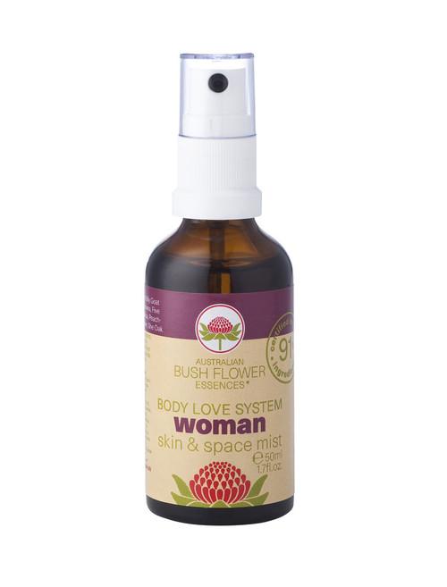 Australian Bush Flower Essences Organic Woman Mist 50ml
