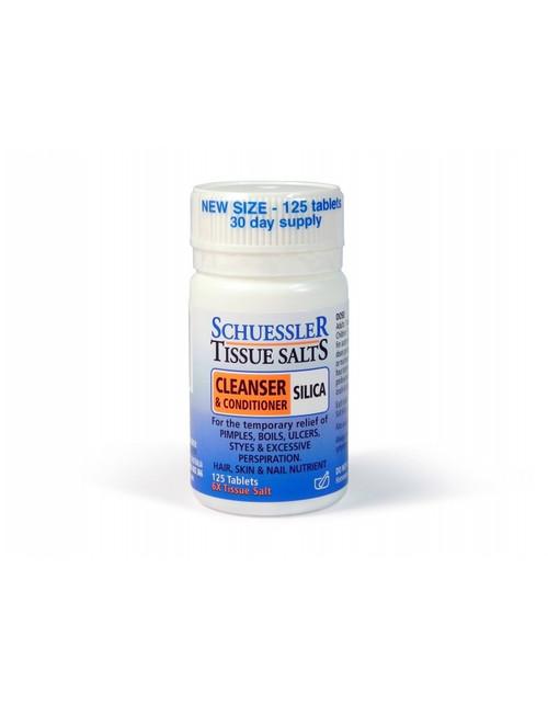Schuessler Tissue Salts Silica 125 Tabs